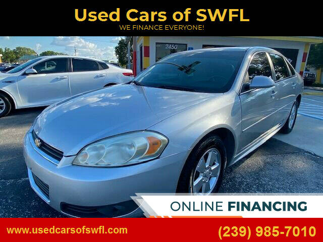 2011 Chevrolet Impala for sale at Used Cars of SWFL in Fort Myers FL
