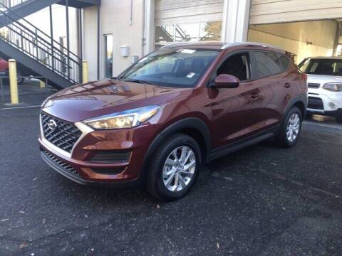 2020 Hyundai Tucson for sale at Credit Union Auto Buying Service in Winston Salem NC