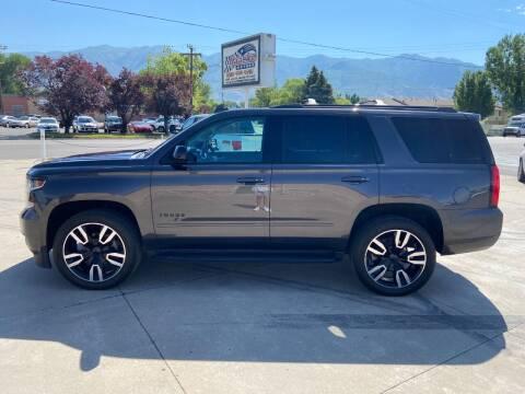 2018 Chevrolet Tahoe for sale at Haacke Motors in Layton UT