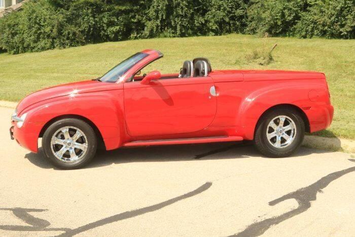 2002 Chevrolet SSR for sale in Cadillac, MI