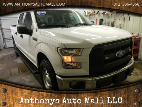 2016 Ford F-150 for sale at Anthonys Auto Mall LLC in New Salisbury IN