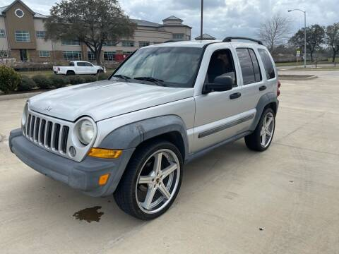 2007 Jeep Liberty for sale at Demetry Automotive in Houston TX