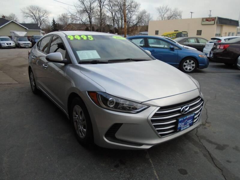 2017 Hyundai Elantra for sale at DISCOVER AUTO SALES in Racine WI