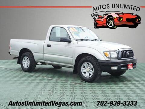 2003 Toyota Tacoma for sale at Autos Unlimited in Las Vegas NV