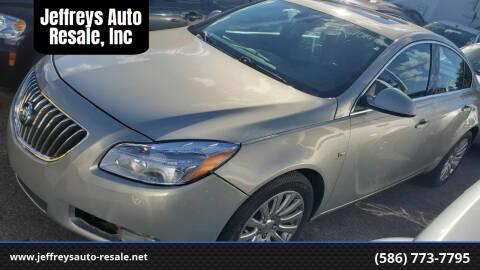 2011 Buick Regal for sale at Jeffreys Auto Resale, Inc in Clinton Township MI