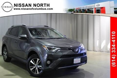 2018 Toyota RAV4 for sale at Auto Center of Columbus in Columbus OH