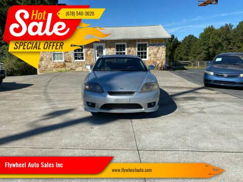 2006 Hyundai Tiburon for sale at Flywheel Auto Sales Inc in Woodstock GA