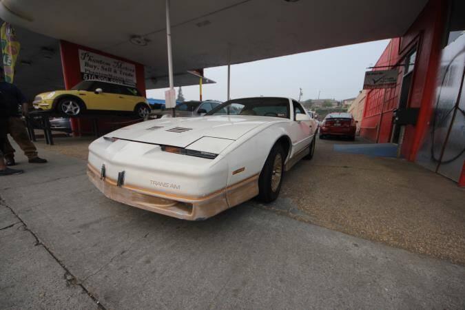 1985 Pontiac Firebird for sale at Phantom Motors in Livermore CA