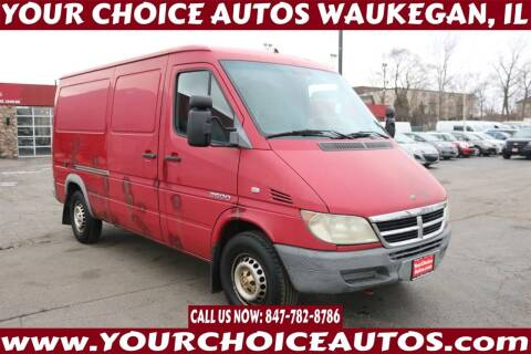 2004 Dodge Sprinter Cargo for sale at Your Choice Autos - Waukegan in Waukegan IL