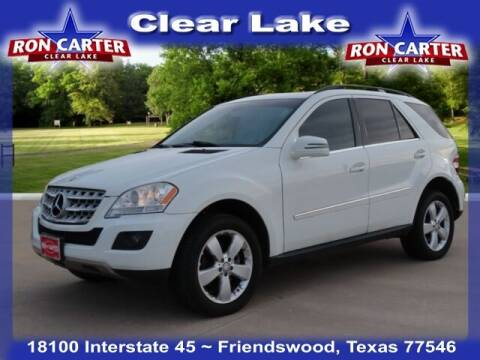 2011 Mercedes-Benz M-Class for sale at Ron Carter  Clear Lake Used Cars in Houston TX