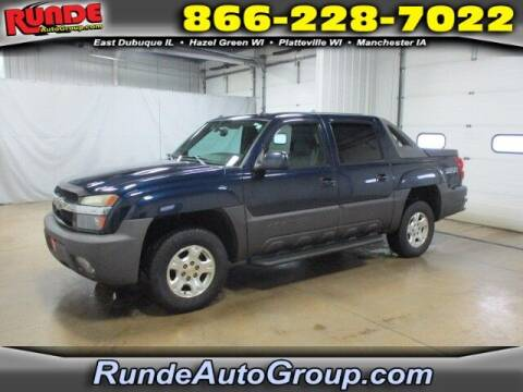 2004 Chevrolet Avalanche for sale at Runde Chevrolet in East Dubuque IL