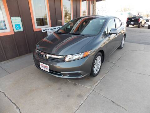 2012 Honda Civic for sale at Autoland in Cedar Rapids IA