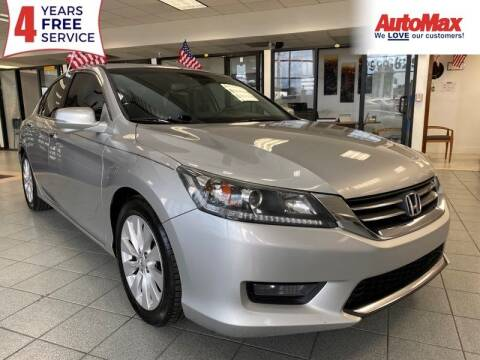 2015 Honda Accord for sale at Auto Max in Hollywood FL