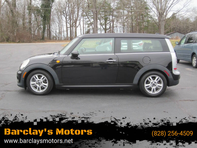 2014 MINI Clubman for sale at Barclay's Motors in Conover NC