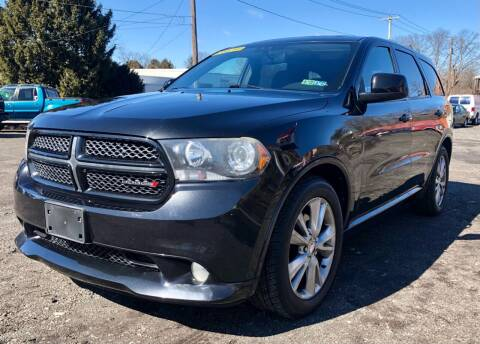 2012 Dodge Durango for sale at Mayer Motors of Pennsburg in Pennsburg PA