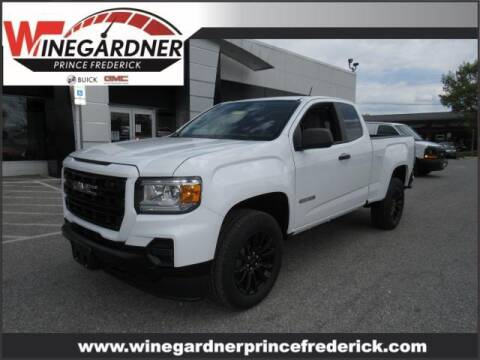 2021 GMC Canyon for sale at Winegardner Auto Sales in Prince Frederick MD