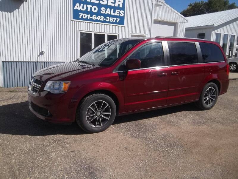 2017 Dodge Grand Caravan for sale at Wieser Auto INC in Wahpeton ND