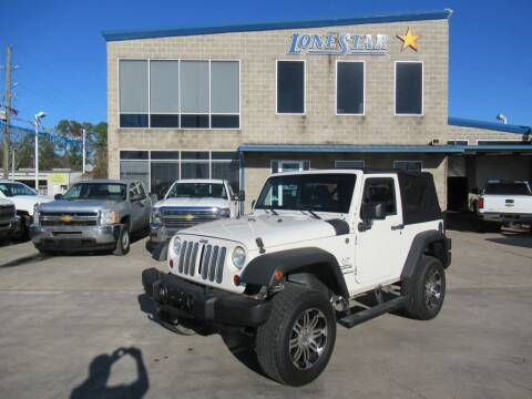 2010 Jeep Wrangler for sale at Lone Star Auto Center in Spring TX