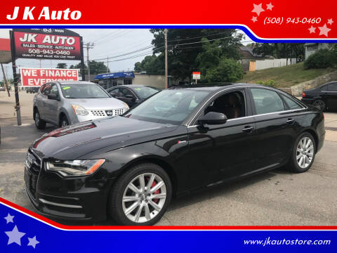 2012 Audi A6 for sale at Webster Auto Sales in Webster MA