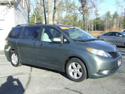 2011 Toyota Sienna for sale at DUVAL AUTO SALES in Turner ME