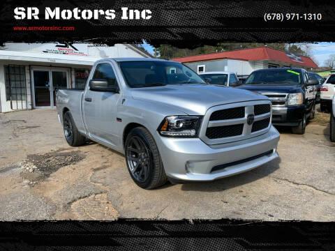 2014 RAM Ram Pickup 1500 for sale at SR Motors Inc in Gainesville GA