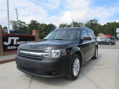 2015 Ford Flex for sale at J T Auto Group in Sanford NC