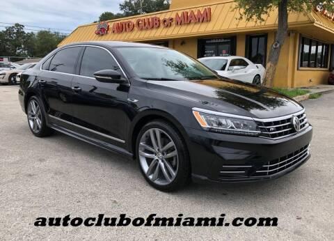 2017 Volkswagen Passat for sale at AUTO CLUB OF MIAMI in Miami FL