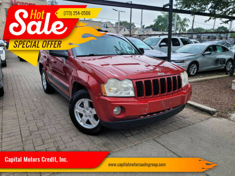 2006 Jeep Grand Cherokee for sale at Capital Motors Credit, Inc. in Chicago IL