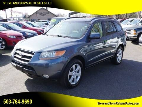 2007 Hyundai Santa Fe for sale at Steve & Sons Auto Sales in Happy Valley OR