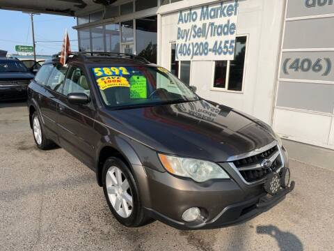 2008 Subaru Outback for sale at Auto Market in Billings MT