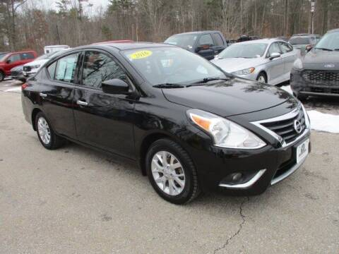 2016 Nissan Versa for sale at MC FARLAND FORD in Exeter NH
