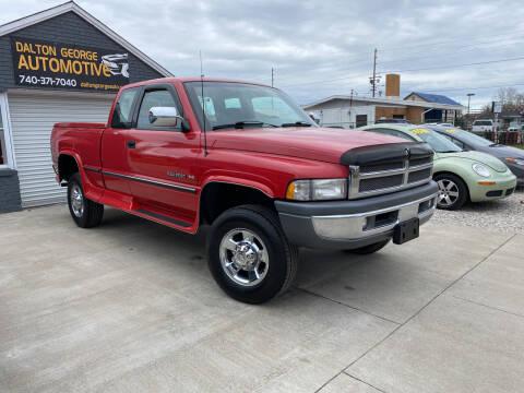1996 Dodge Ram Pickup 2500 for sale at Dalton George Automotive in Marietta OH