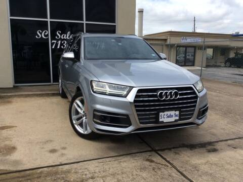2018 Audi Q7 for sale at SC SALES INC in Houston TX