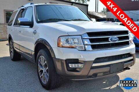 2016 Ford Expedition for sale at LAKESIDE MOTORS, INC. in Sachse TX