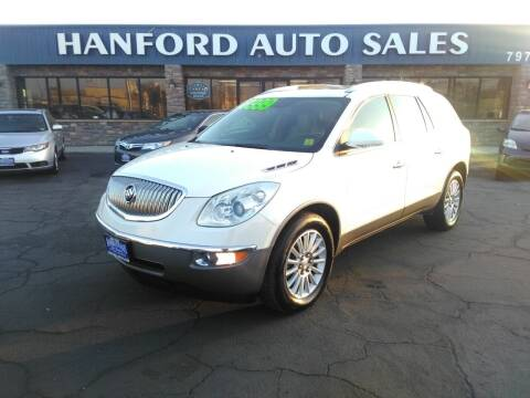 2011 Buick Enclave for sale at Hanford Auto Sales in Hanford CA