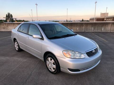 2005 Toyota Corolla for sale at Rave Auto Sales in Corvallis OR