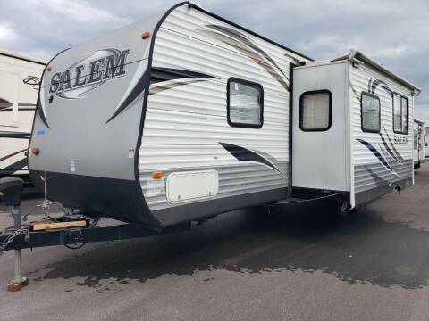 2014 Forest River Salem 30KQBSS for sale at Ultimate RV in White Settlement TX