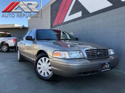2008 Ford Crown Victoria for sale at Auto Republic Fullerton in Fullerton CA