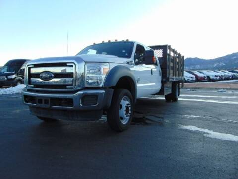 2016 Ford F-550 Super Duty for sale at Lakeside Auto Brokers in Colorado Springs CO