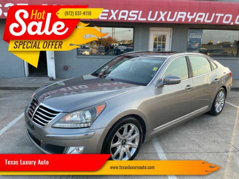 2011 Hyundai Equus for sale at Texas Luxury Auto in Cedar Hill TX