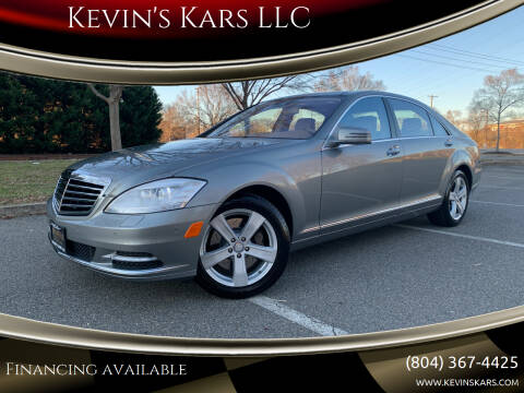 2011 Mercedes-Benz S-Class for sale at Kevin's Kars LLC in Richmond VA
