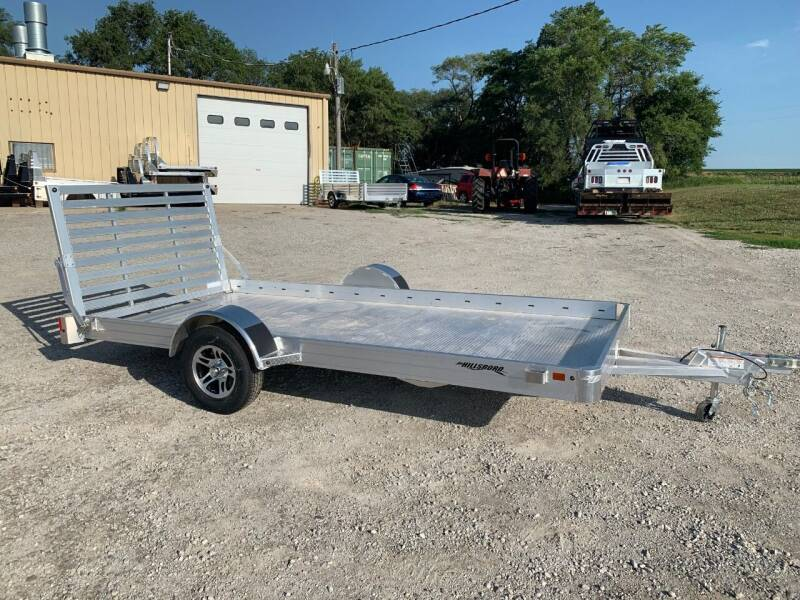 "2022 Hillsboro 14' x 78"" Utility Trailer for sale at Schrier Auto Body & Restoration in Cumberland IA"
