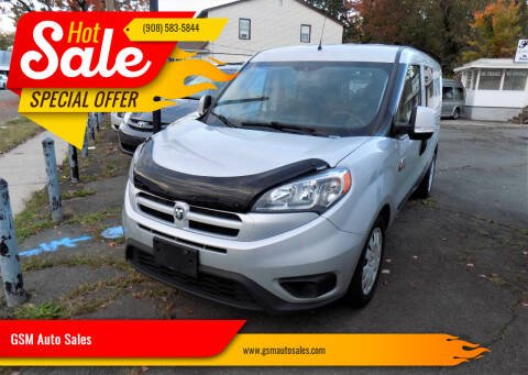 2017 RAM ProMaster City Cargo for sale at GSM Auto Sales in Linden NJ