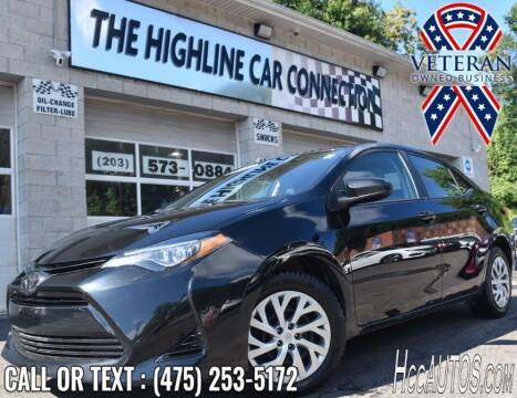 2019 Toyota Corolla for sale at The Highline Car Connection in Waterbury CT