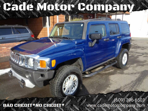 2009 HUMMER H3 for sale at Cade Motor Company in Lawrenceville NJ