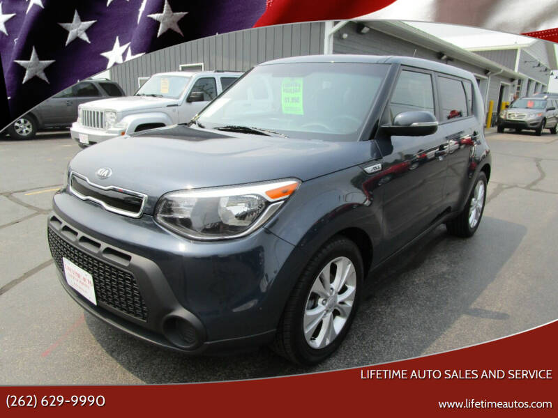 2014 Kia Soul for sale at Lifetime Auto Sales and Service in West Bend WI
