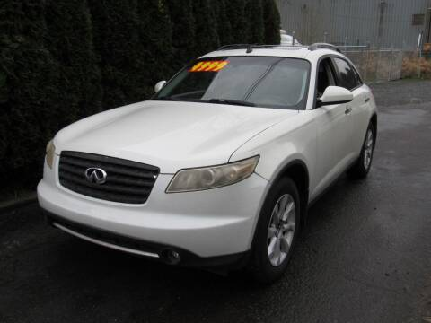 2006 Infiniti FX35 for sale at Royal Auto Sales, LLC in Algona WA