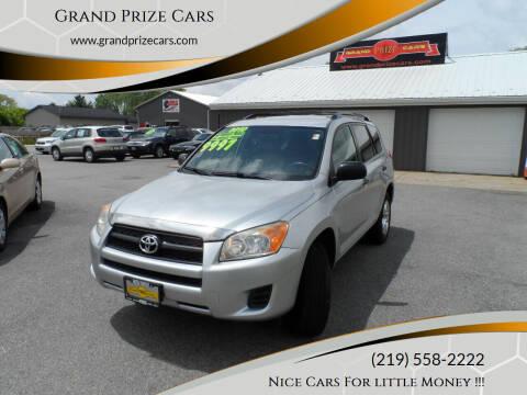 2010 Toyota RAV4 for sale at Grand Prize Cars in Cedar Lake IN