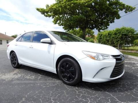 2015 Toyota Camry for sale at SUPER DEAL MOTORS 441 in Hollywood FL