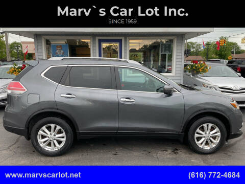 2015 Nissan Rogue for sale at Marv`s Car Lot Inc. in Zeeland MI